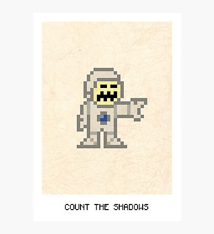 Count The Shadows Photographic Print