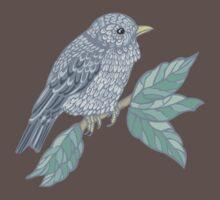 Vintage colored bird Baby Tee