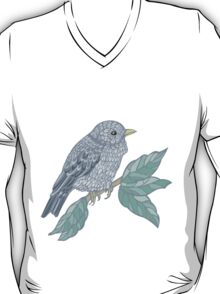 Vintage colored bird T-Shirt
