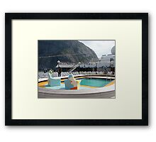 Swimming Pool Framed Print
