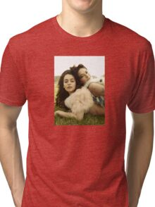 Emilia Clarke and Lena Headey Tri-blend T-Shirt