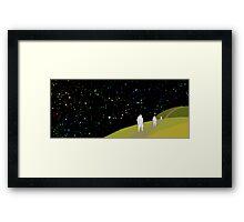 Space Trek Framed Print