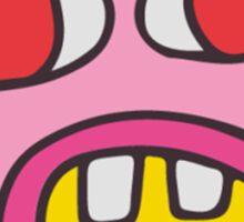 cher bum (non-pattern) Sticker