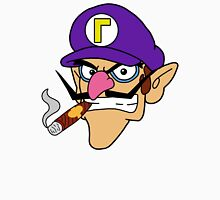 Waluigi Smoking a Cigar Unisex T-Shirt