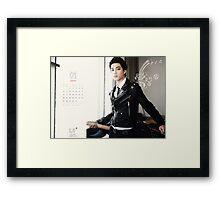 EXO JONGIN PRINT Framed Print