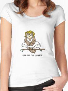 Mar-owl-yn Monroe Women's Fitted Scoop T-Shirt