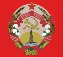 Socialist Azerbaijan Emblem One Piece - Short Sleeve