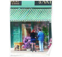 New York - Antique Shop Canandaigua NY Poster