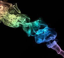 Smokin' Rainbows 2 by Michael Clarke