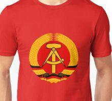 German Democratic Republic Emblem Unisex T-Shirt