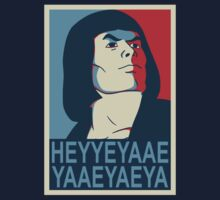 He-Man Heyyeyaaeyaaaeyaeyaa In Obama Hope Style by omelbourne