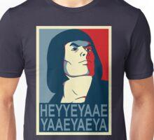 He-Man Heyyeyaaeyaaaeyaeyaa In Obama Hope Style Unisex T-Shirt