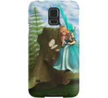 Fairy and Butterfly Samsung Galaxy Case/Skin