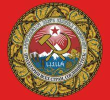 Socialist Georgia Emblem Kids Clothes