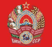 Socialist Kyrgyzstan Emblem Kids Clothes