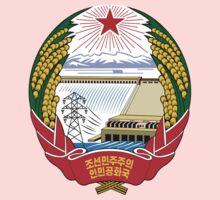 North Korea Emblem Kids Tee