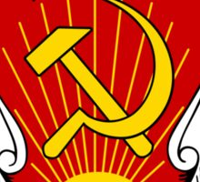 Soviet Russia Emblem Sticker