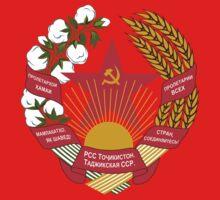 Socialist Tajikistan Emblem by charlieshim