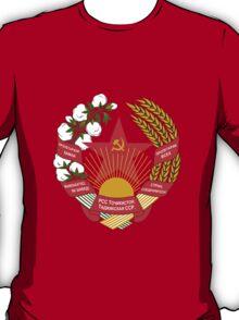 Socialist Tajikistan Emblem T-Shirt