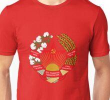 Socialist Tajikistan Emblem Unisex T-Shirt