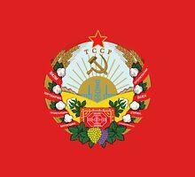 Socialist Turkmenistan Emblem Unisex T-Shirt