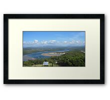 Cook's Lookout  Framed Print