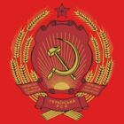 Socialist Ukraine Emblem by charlieshim