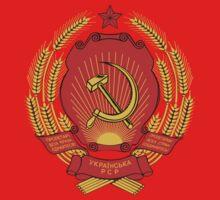 Socialist Ukraine Emblem Kids Tee