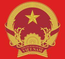 Vietnam National Emblem Kids Tee