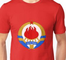 Socialist Yugoslavia Emblem Unisex T-Shirt