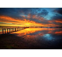 Corio Bay Sunrise HDR Photographic Print