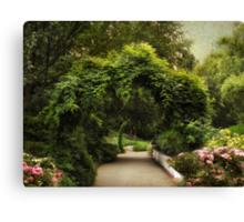 Spring Canopy Canvas Print