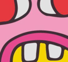 cher bum (pattern) Sticker
