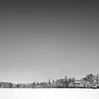 Harrogate Winter Skyline by eatsleepdesign