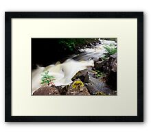 Fast River, Highlands Framed Print