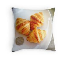 So Tiny, Yet So Delicious Throw Pillow