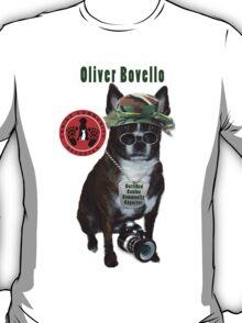 Oliver Bovello, Canine Community Reporter-Travel T-Shirt