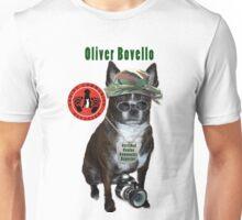 Oliver Bovello, Canine Community Reporter-Travel Unisex T-Shirt