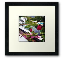 Bougainvillea Patch Framed Print