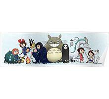 World of Ghibli Poster