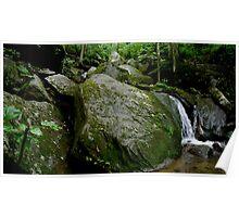 Bent Run Waterfall_2 Poster