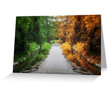 Time goes by Greeting Card