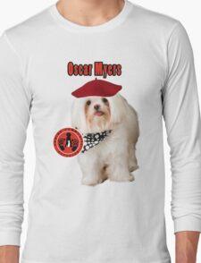 Oscar Myers, Canine Community Reporter-Travel Long Sleeve T-Shirt
