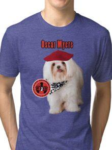 Oscar Myers, Canine Community Reporter-Travel Tri-blend T-Shirt