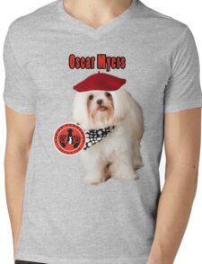Oscar Myers, Canine Community Reporter-Travel Mens V-Neck T-Shirt