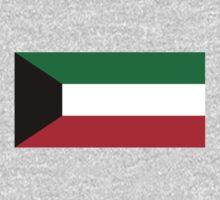Kuwait Flag by cadellin