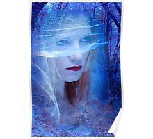 Blue Bride Poster