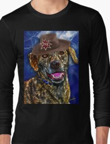 A Canine Community Reporter Fine Art Creation Long Sleeve T-Shirt