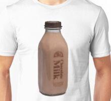 Chocolate Milk Bottle Unisex T-Shirt