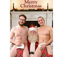 Merry Christmas from Seth & James Photographic Print